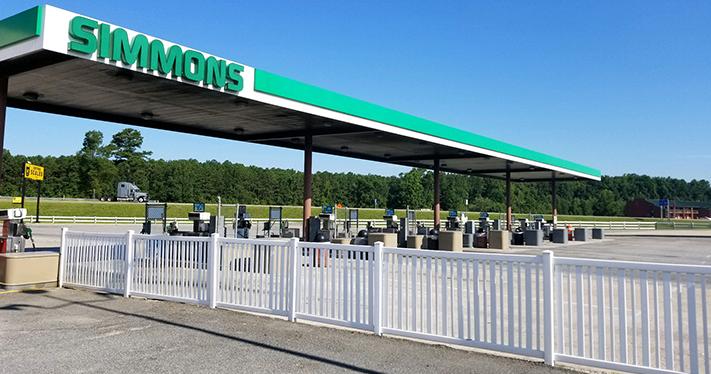 Virginia Rest Stop Simmons Travel Center Parker Oil